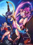 Alley's Cats - UDON Fighting Tribute by DarkerEve