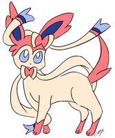 Sylveon! by Spufflez