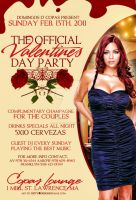 official vday party flyer by DeityDesignz