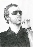 Chris Martin by MariaBruggeman