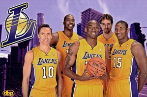 Los Angeles Lakers by danielboveportillo