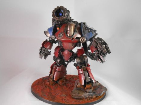 Mechanicum Thanatar Siege Automata by Foxdonut2007