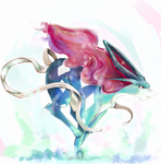 Suicune by MeluuArts