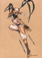 Ibuki street fighter by Exile-062