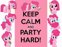 Keep Calm and Party Hard! (Filly Edition) by berry331