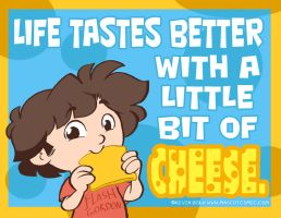 When people say what you like is 'cheesy'... by kevinbolk