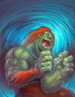 blanka by kidchuckle