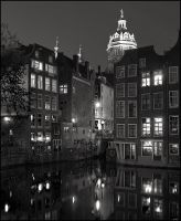 Amsterdam Night by aponom