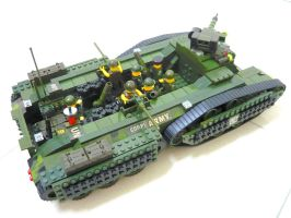 "Lego Transform Tank ""Fake"" 1.4 by SOS101"