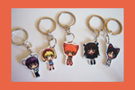 Fruits Basket Chibi Charm Keychains by IcyPanther1