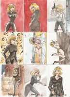 Honey West 3 by AmberStoneArt