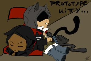 ::PROTOTYPE 2: Alex and James Kitties:: by Lanzio