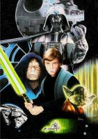 Star Wars by AZendron