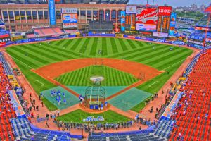 Shea Stadium from the top by FlukieW