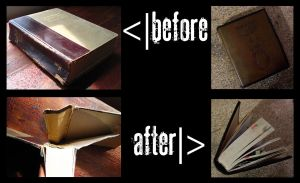 Bible Rebuild Before and After by Broadsword21