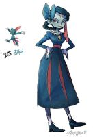 215.Sneasel by tamtamdi