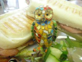 hungry owl by 9madgirl9