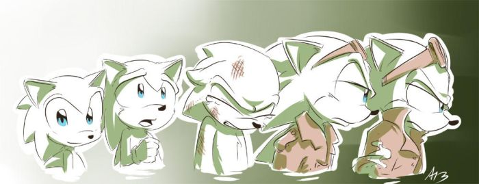 Scourge's Evolution by AllesiaTheHedge