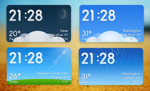 MIUI Weather v1 for xwidget by jimking