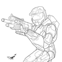 Halo Masterchief - Charity 1 by TheUmbris