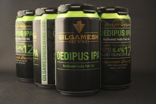 Gilgamesh Oedipus IPA Cans by filly4585