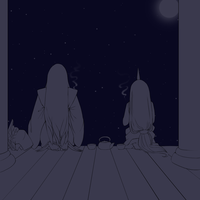 A Clear and Calm Night by llawll