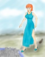 Lois and the city by yamumil