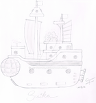 Suika Pirates' ship - LotS by me-you-we