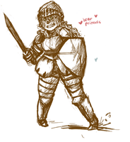 The Lady Knight by OreoDeath