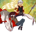 3 random characters by NobleExorcist