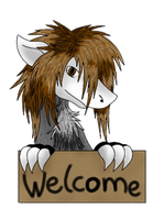 Welcome (how want one?write in the comments) by DarkRainbowDragon