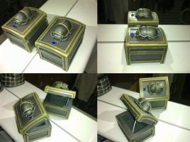 Scarab jewelry box by LaddeDadde