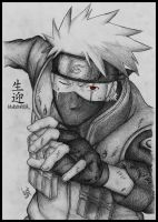 KAKASHI - The Commission for Nanami09 by LucasTsilva