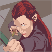 Tauriel by Mr-van