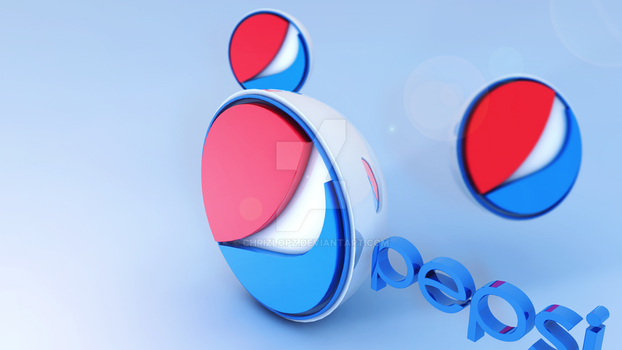 Pepsi - Famous Logos In 3D by ChrizLopz