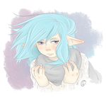 Cold Elf by SometimesCats