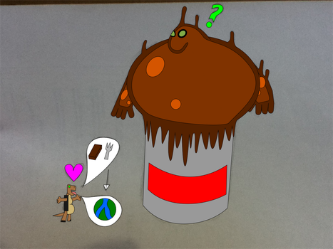 Chocolate Goop (plz comment) by Shelby95