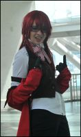 Grell: The Red Butler by Betwixt779