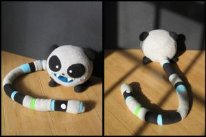 Pandacoon Plush by leesers