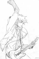 Playing Guitar by NarutoMadhatter