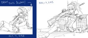 Draw this again: Kaname Being Awesome by StrikeRougeMk2