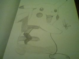 Pikachu for a friend 1 by MarySeverus