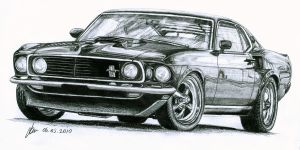 1969 FORD MUSTANG by fatihsultan