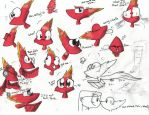 Phoenix Phin Expressions by LoveyLoo