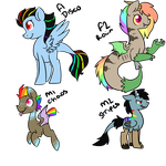 Discord X RDash : Breedable : 20 points each by ThePotato-Queen