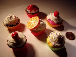 Miniature Cupcakes SD by ChocolateDecadence