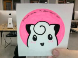 Clefairy Sticker for Sale by rayne-storme