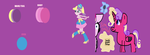 princess Skyla color guide by PrincessCadenceXD