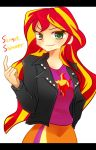 MLPEG Sunset Shimmer by 00riko
