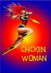 Chicken woman by carrie-lewis